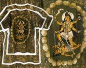 Hamsa Shirt/ Hindu/ Hippie T Shirt/ Ganesha/ Krishna/ Grunge T Shirt/ Hindu God/ Boho T Shirt/ Meditation Clothing/ Hare Krishna/ India