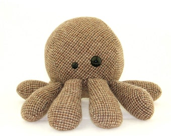 Brownie Octopus Plush