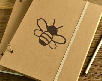 Bee Decal, Cute Honey Bee Decal, Bee Decal for Laptop, Laptop Decals, Phone Decal, Notebook Decal, Cute Journal Decals, Honey Bee Decals