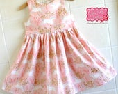 Pink Unicorn Girls dress -  toddler dress, Summer dress, pretty dresses, tea party dress, birthday dress, unicorn dress, party dress