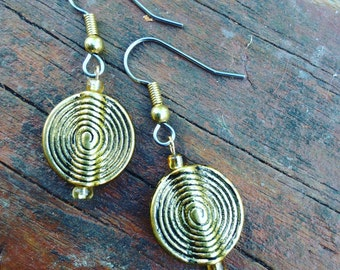 Spiral of Life Earrings