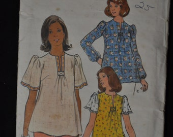 Maternity Pattern, size 16, Loose Fitting Top, Butterick 4188
