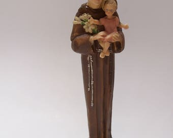 St. Anthony Padua 9 1/2 Inch Religious Statue