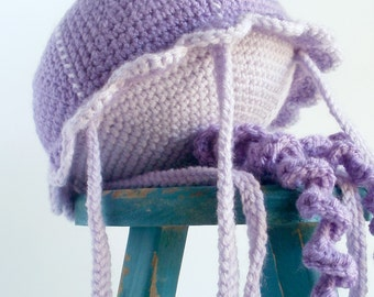 Jellybean the Crochet Jellyfish