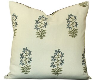 Peter Dunham Udaipur Pillow Cover in Indigo