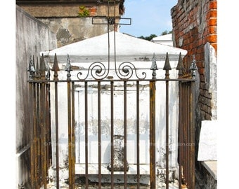 New Orleans Cemetery Tomb Photo
