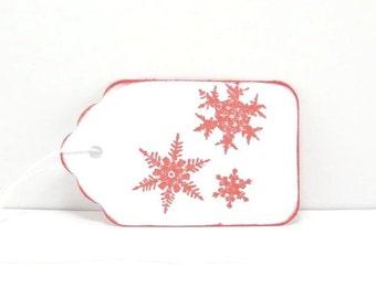 Winter Gift Tags, Snowflake Gift Tags, Snowflake Tags, Christmas Tags, Holiday Tags,  Holiday Gift Tags, Christmas Gift Tags, Rustic Tags