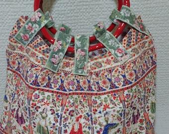Rites of Spring Large Bucket Bag