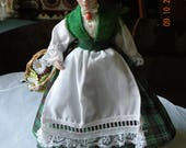 Beautiful Bisque Edwardian Irish Maiden Doll