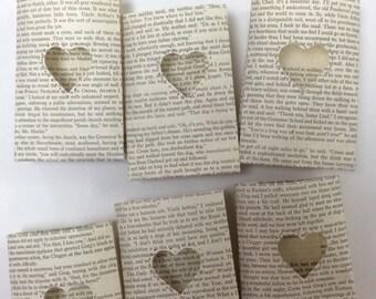 Mini Heart Luminaries, Book Wedding, Love Story, Book Decor, Paper Lanterns, Book Party, Wedding Decor, Book Theme Wedding, Weddings, Love