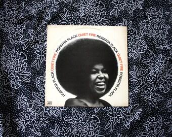 Roberta Flack - Quiet Fire - Vintage Vinyl Record Album  LP - Soul Blues Classic. 1971 Original Classic Female Soul Record