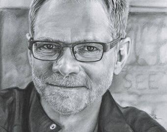 Drawing Print of Steven Curtis Chapman (8.5 x 11)