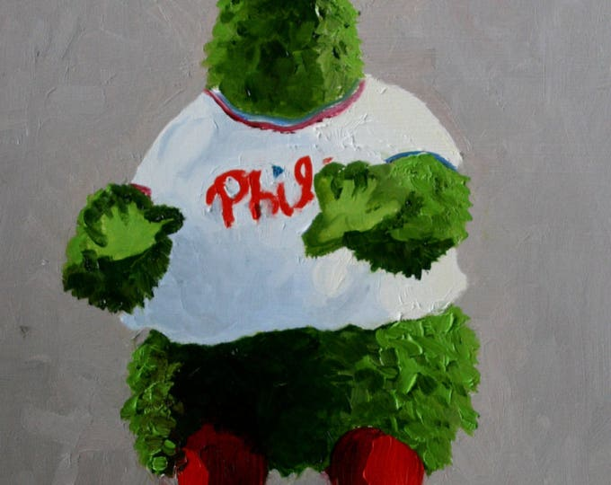 Featured listing image: Phillies Phanatic - Digital Dowload for Phone Wallpaper