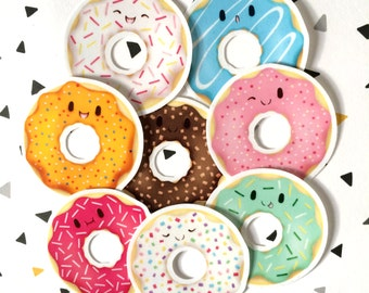 Donuts Sticker pack
