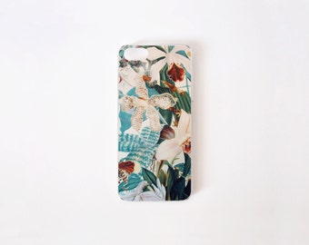 Floral iPhone Case - Floral Illustration iPhone SE Case - iPhone 5s Case - iPhone 5 Case