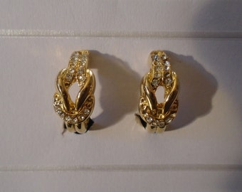 Earrings with clips (185)
