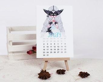 Calendar 2017 - paper calendar