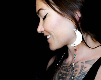 The Sun and The Moon Tribal Boho Beaded Earrings(Excluded from Sale)
