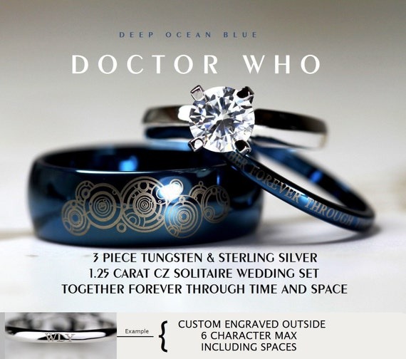 like this item - Doctor Who Wedding Ring