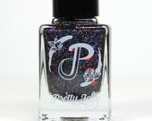 Hamilton Musical Inspired Nail Polish, Indie Nail Lacquer, Glitter Nail Varnish, Gift for Her, Vegan Pretty Jelly, The Room Where It Happens