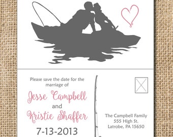 Romanic Fishing Save the Date - PRINTABLE