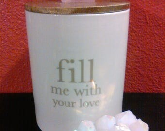 Harajuku Kitty Lid on Fill Me With Your Love Canister