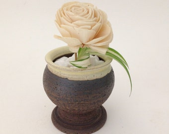 Small Hand Crafted Ceramic Planter