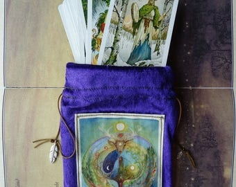 Deer Medicine Tarot Card Bag