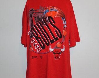Vintage Chicago Bulls NBA T-Shirt XL