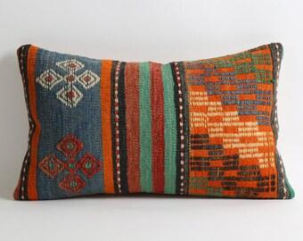 kilim pillow, vintage pillow, turkish pillow, bohemian pillow, decorative pillow, pillow, throw pillow, pillow cover, turkish kilim pillow
