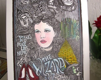 The Wizard of Oz poster by Posterography