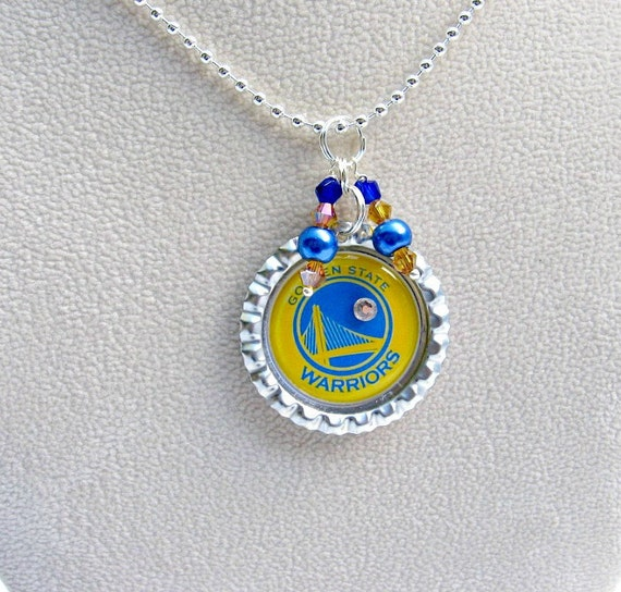 golden state warriors basketball necklace golden state