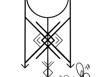 Rune Inspired Tattoo