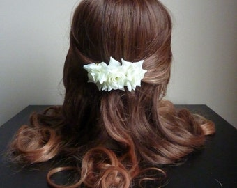 Triple Rose Hair Comb