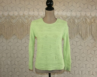 Lime green top | Etsy