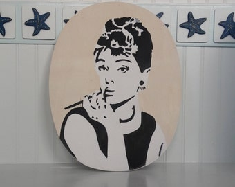 Pop Art Audrey Hepburn Painting
