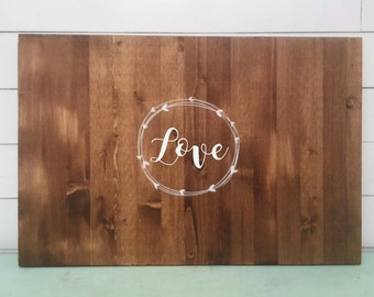 Rustic Guestbook, Rustic Guest book, Wood Guestbook, rustic wedding, guest book alternative, Wedding Guest Book, Personalized Guest Book