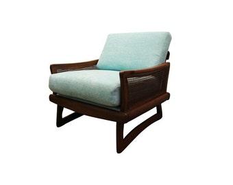 Mid Century Danish Modern Adrian Pearsall-style Lounge Chair