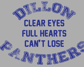 Dillon Panther Quote