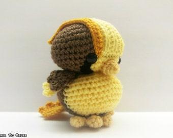Crochet Pidgeot Inspired Chibi Pokemon
