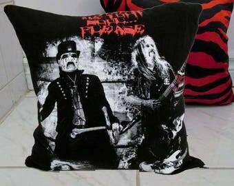 King Diamond Pillow DIY Heavy Metal Decor 5 (Cover or Full PIllow)
