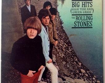 The Rolling Stones - Big Hits (High Tide And Green Grass) LP Vinyl Record Album, London Records - NPS-1, 1966, Original Pressing