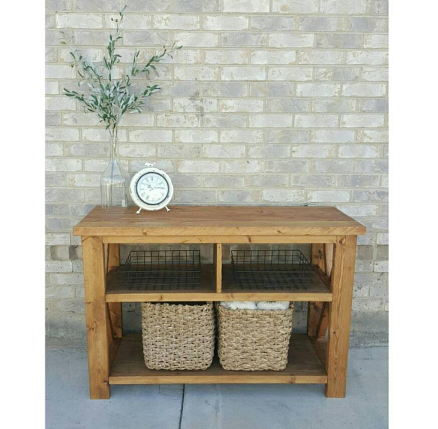 local pickup only - entryway table - console table - tv stand