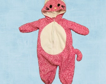 Pink Jaguar Costume for Child  Size 4