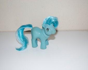 My Little Pony Mini Baby Blue Ember Mail Order 1984 G1 MLP