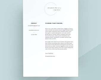 creative cover letter template cover letter letterhead word template simple cover letter. Resume Example. Resume CV Cover Letter