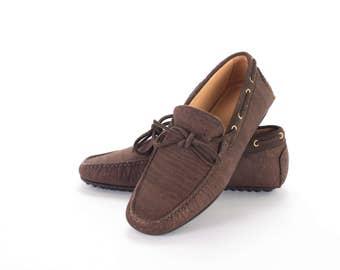 Cork Men Moccasin / Cork Man Shoes / Men shoes - Man Loafers in cork - FREE SHIPPING WORLDWIDE - Vegan Eco-Friendly Gift Idea