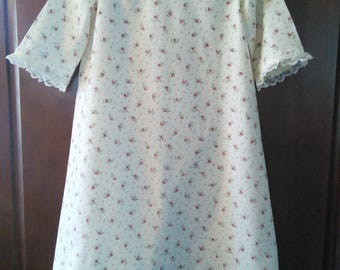 Girl's Flannel Nightgown Size 6