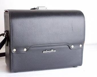 Minolta Hard Camera Carrying Case for SLR Minolta 35mm Film Cameras