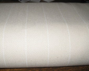"""1 yard x 58-60"""" wide Cotton Monks Cloth Rug FOUNDATION FABRIC / Backing for Rug Hooking"""